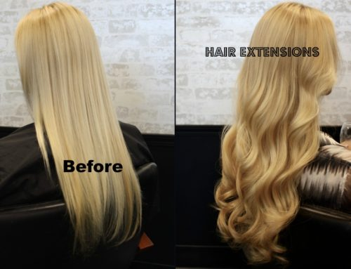 Hair Extensions for length and volume.