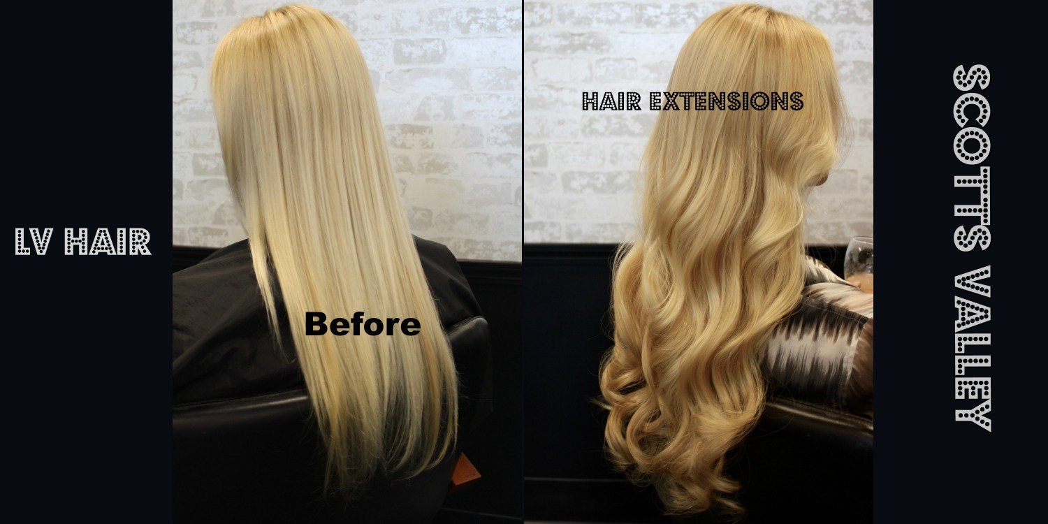 hair extensions Scotts Valley LV Hair