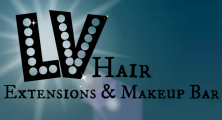 LV Hair Extensions and Makeup Bar
