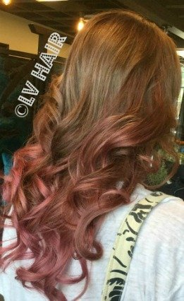 hair color lv hair scotts valley pastel