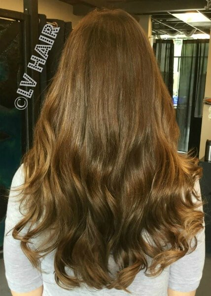 Ultratress human hair extensions auburn after