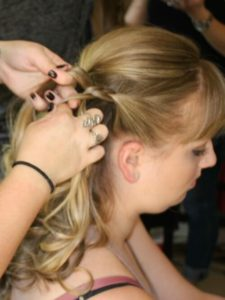 bridal updo scotts valley