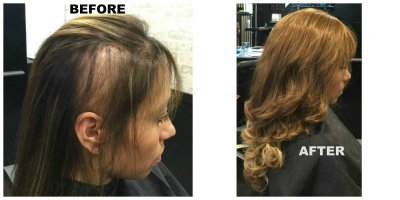 hair integration model LV Hair Scotts Valley pic