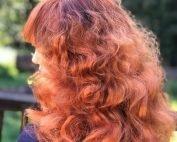 Red hair color santa cruz