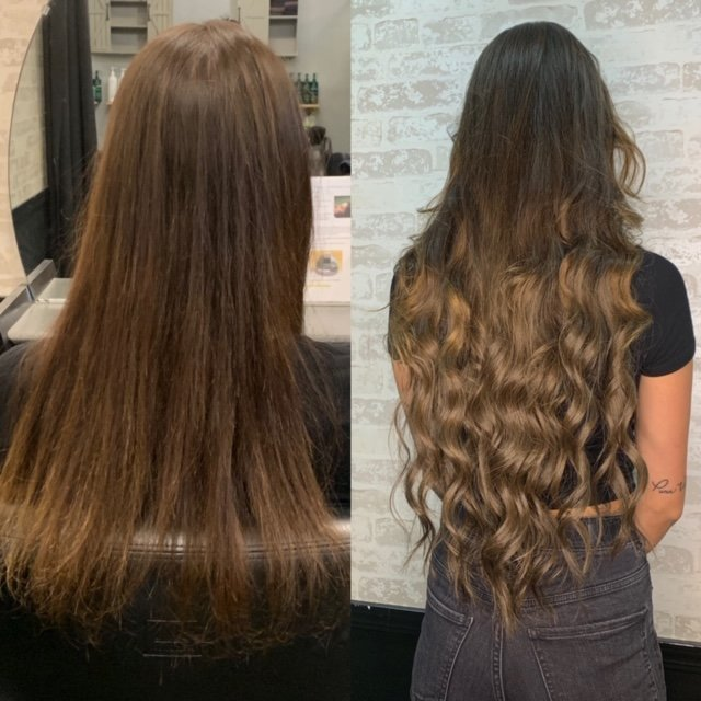 28 inch human hair extensions