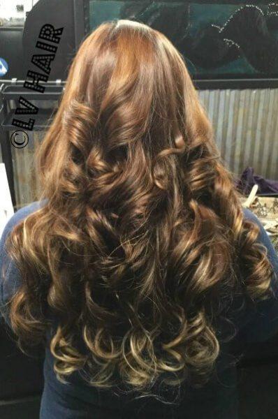 Ultratress human hair extensions dark after