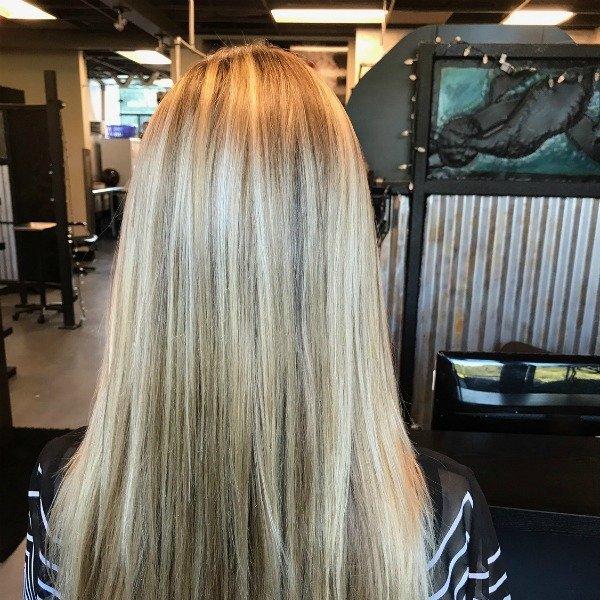 blonde highlights Scotts Valley