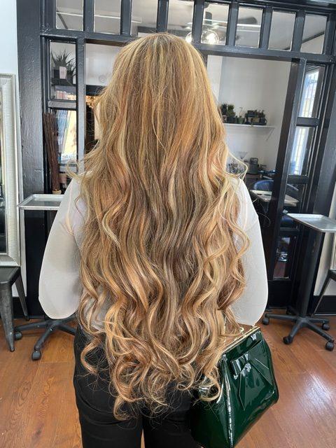 Russian hair extensions 30 inch length Santa Cruz CA